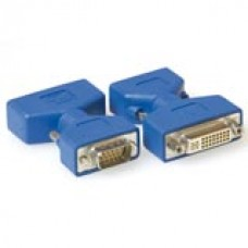 Verloop adapter DVI-A female - VGA male