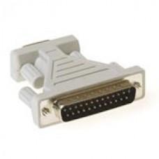 D-sub adapter 9-polig - 25-polig met molded body