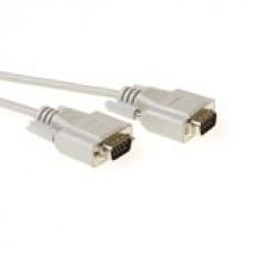 Seriële 1:1 aansluitkabel 9 pin D-sub male - 9 pin D-sub male